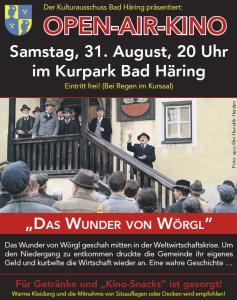 Open Air Kino @ Kurpark Bad Häring