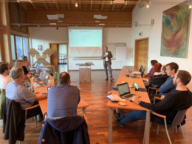 Gemeinderat bei der Budgetklausur(C)Gemeinde Bad Häring