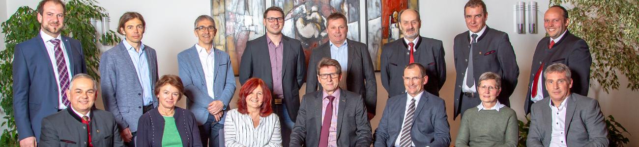 Gemeinderat Bad Häring 2016 - 2022 (c) Bad Häring