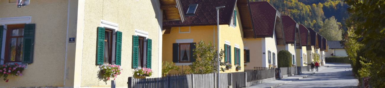 Straßenzug in Bad Häring Luftansicht | (c)Bad Häring