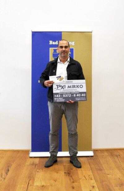 @Josef Boskovic Inhaber von Taxi Mirko Kufstein